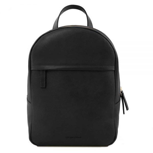 Leren dames rugzak 'TL bag' in zwart bij ItaliaanseTassen.nl