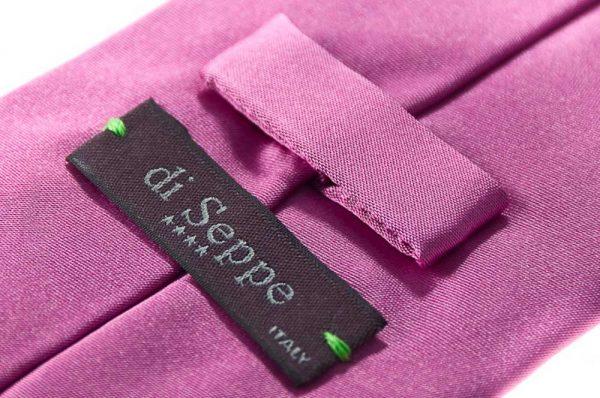 Zijden stropdas Como in de kleur roze