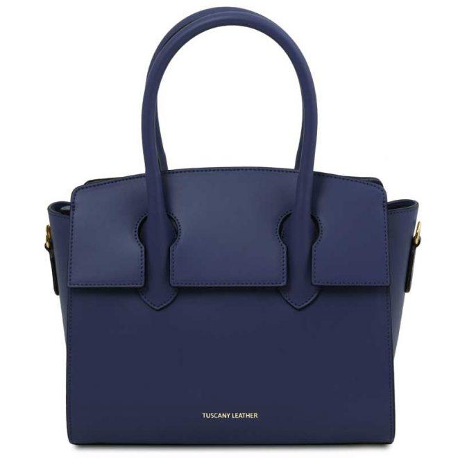 leren-damestas-tl-bag-43-blauw-voorkant