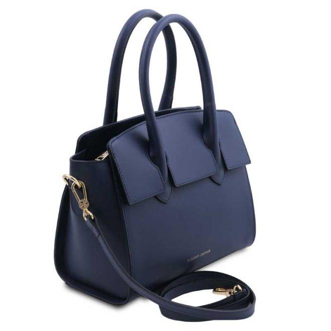 leren-damestas-tl-bag-43-blauw-zijkant