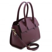 leren-damestas-tl-bag-43-bordeaux-zijkant