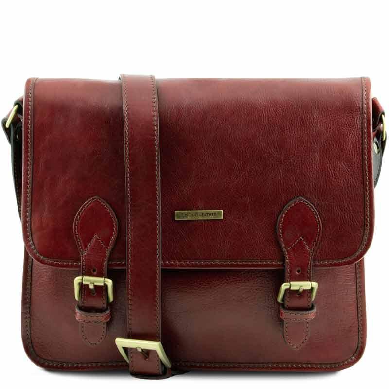 0551553d683 Leren messenger bag 'TL Postman' bij ItaliaanseTassen.nl
