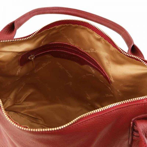 leren Handtas TL bag V bij Italiaansetassen.nl