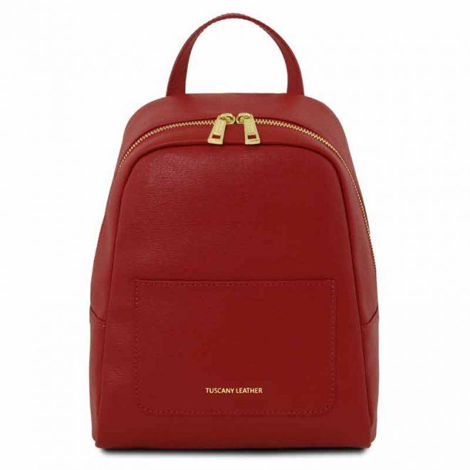 leren-rugzak-dames-tl-bag-01-rood-voorkant