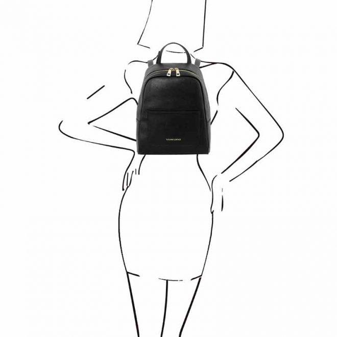 leren-rugzak-dames-tl-bag-01-zwart-op-de-rug