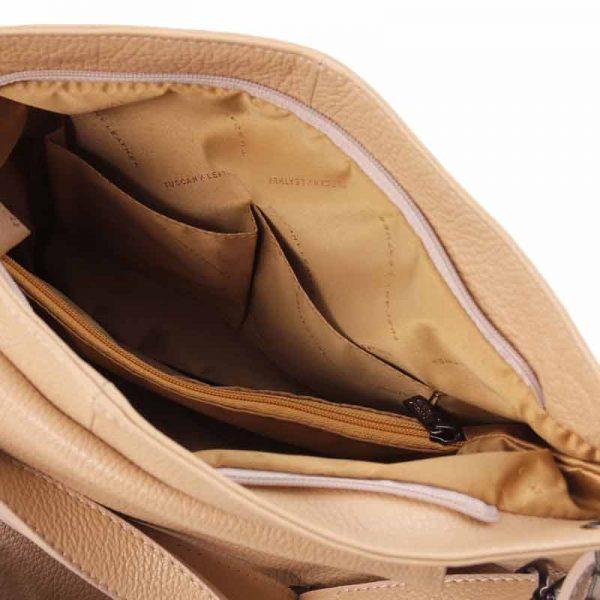 leren Schoudertas TL bag bij Italiaansetassen.nl