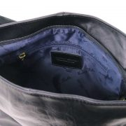 Leren-damestas-TL-bag-10-zwart-binnenkant
