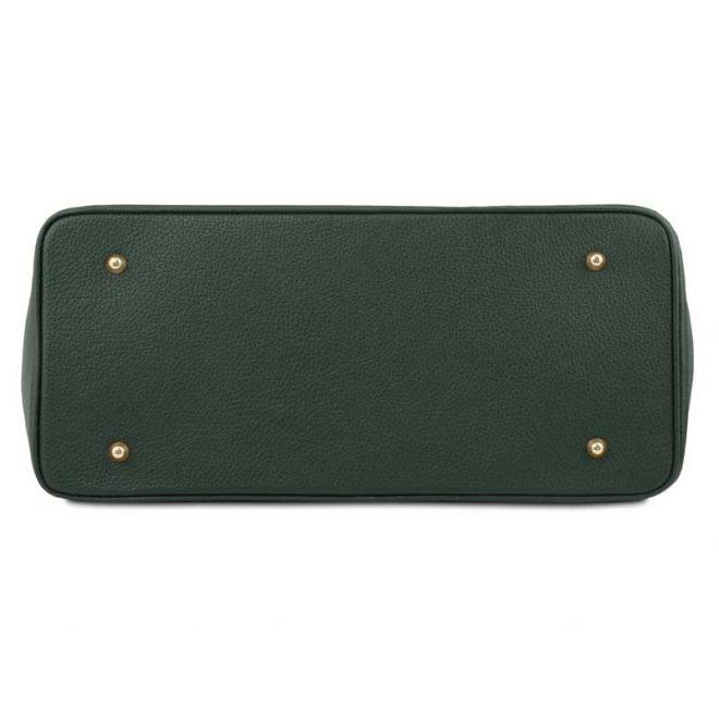 leren-damestas-tl-bag-29-groen-onderkant