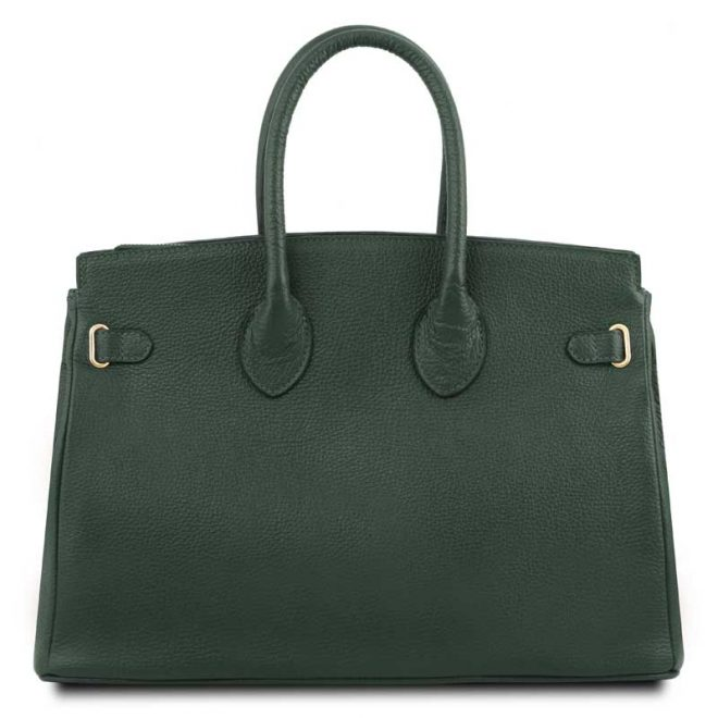 leren-damestas-tl-bag-29-groen-achterkant