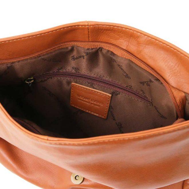Leren-damestas-TL-bag-10-cognac-binnenkant