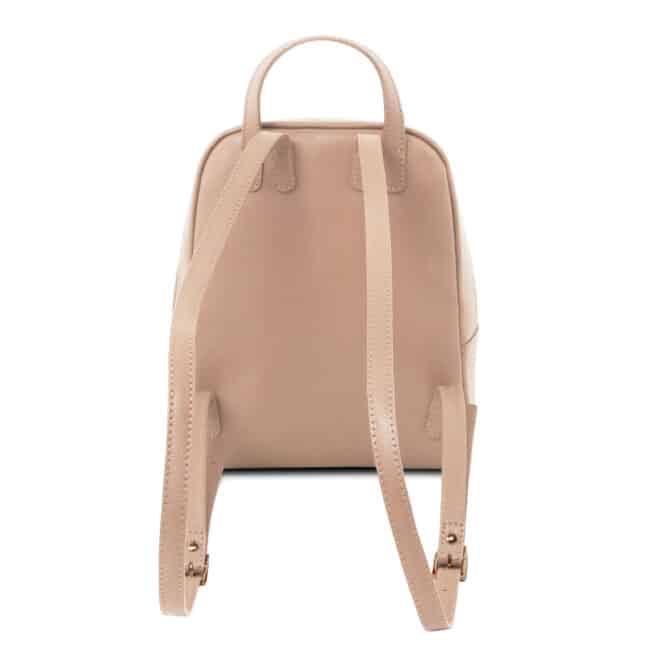 leren rugzak dames tl bag 01 roze achterkant