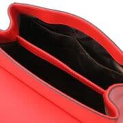 leren damestas tl bag 51 rood open vakken