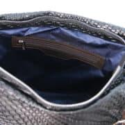 leren damestas TL bag 66 zwart binnenvak met rits